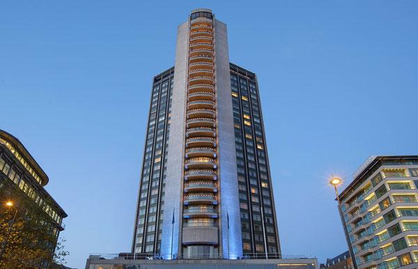 Строительство отеля Hilton в Ялте