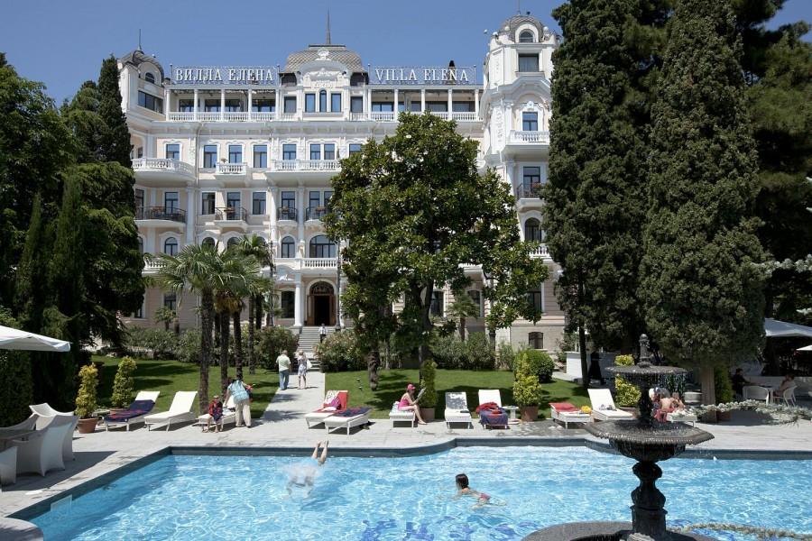 Самые роскошные отели Крыма